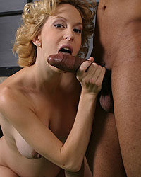 Rb06 Dick James Preg - Pregnant blond sucks & fucks black interracial