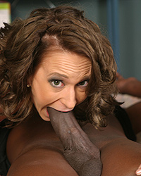 Byron long her first black cock